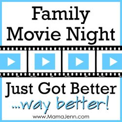 Family Movie Night Just Got Way Better!
