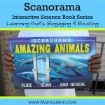 Scanorama Amazing Animals Interactive Science Book