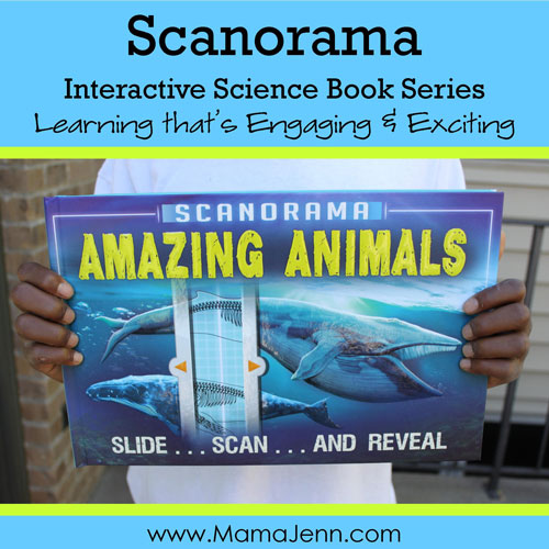 Scanorama Interactive Science Books