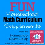 FUN Homeschool Math Curriculum Supplements