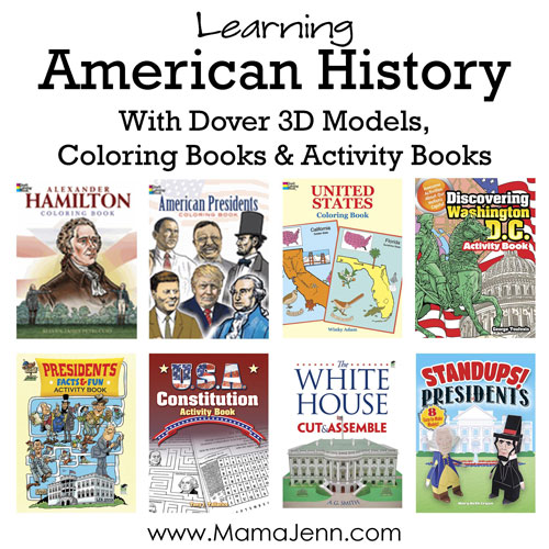 American History Coloring Books & Activities