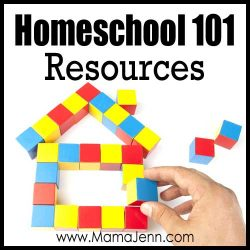 Homeschool 101 Resources