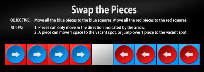 Swap Pieces Online Logic Math Game