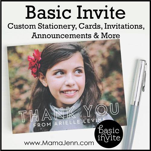 Basic Invite: Beautiful Custom Stationery