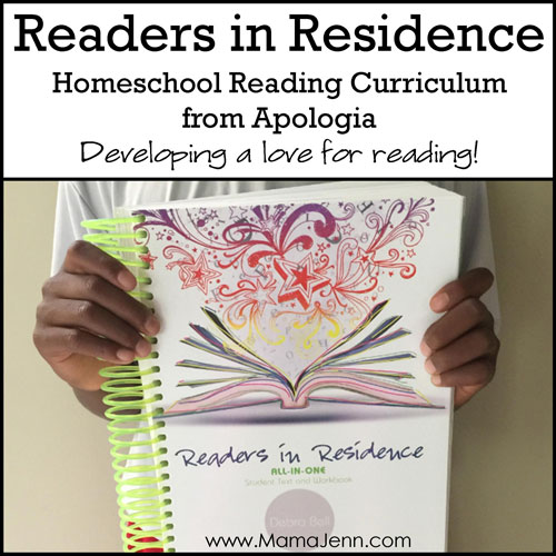 Readers in Residence Homeschool Reading Curriculum