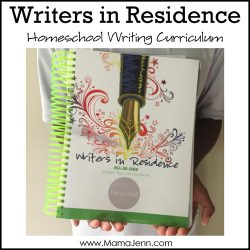 Writers in Residence Apologia Homeschool Writing Curriculum