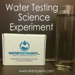 Home Water Testing Kit: Science Experiment w/Printable