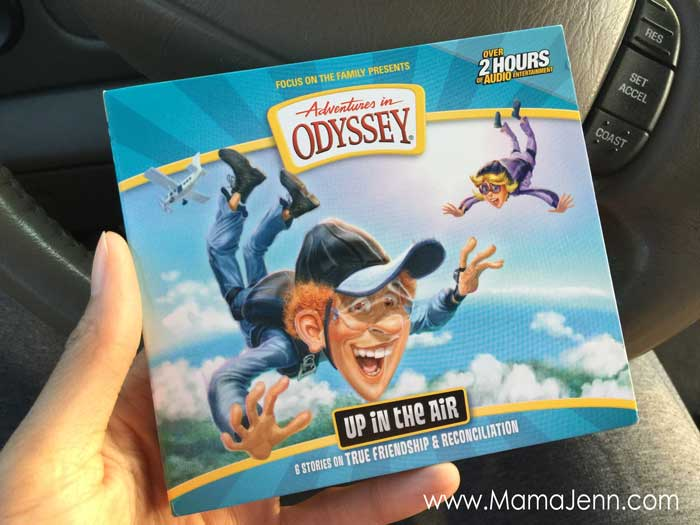 Adventures in Odyssey Up in the Air Audiobook