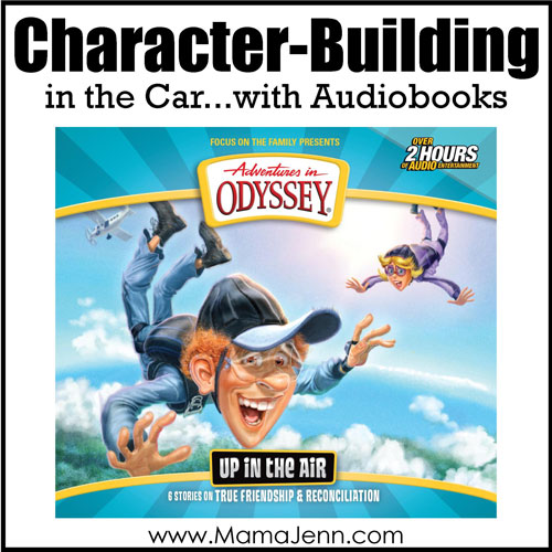 Adventures in Odyssey Up in the Air Family Audiobook