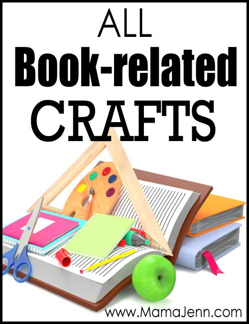 All Book-Related Crafts