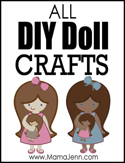 All DIY Doll Crafts