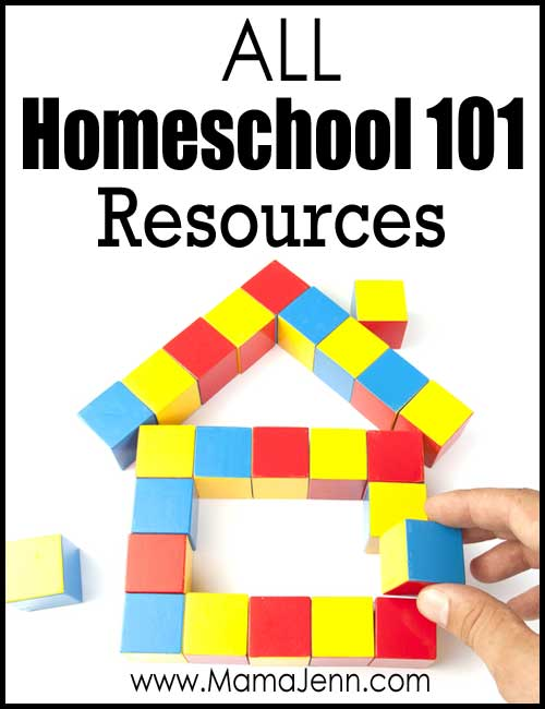 All Homeschool 101 Resources