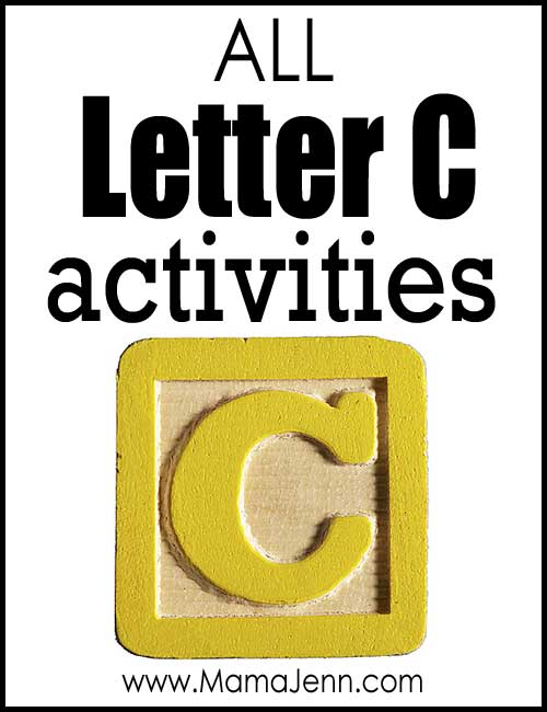 All Letter C Alphabet Activities