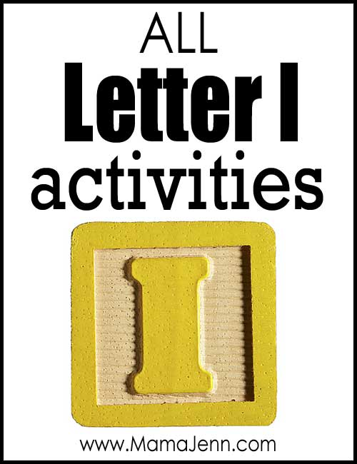 All Letter I Alphabet Activities