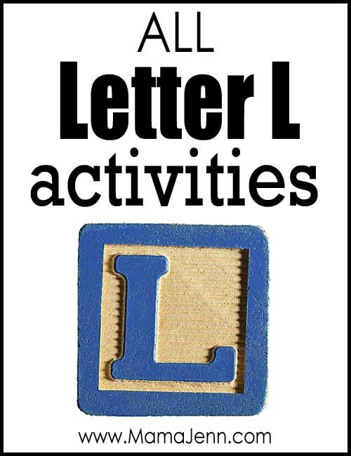 All Letter L Alphabet Activities