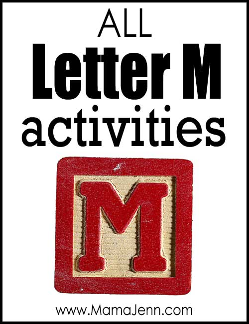 All Letter M Alphabet Activities