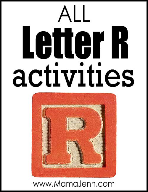 All Letter R Alphabet Activities