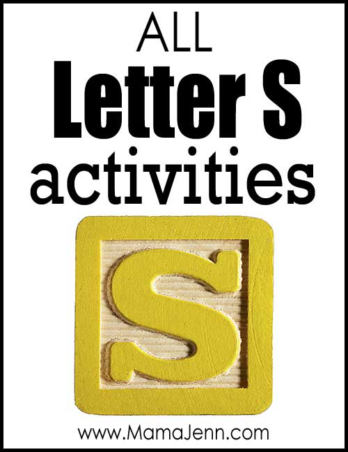 All Letter S Alphabet Activities