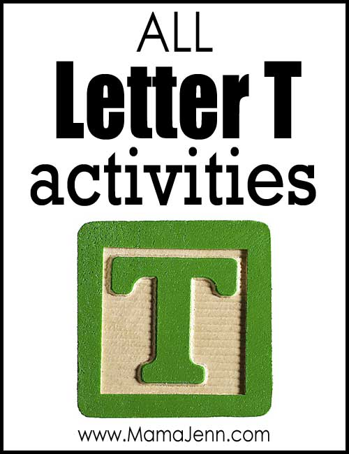 All Letter T Alphabet Activities