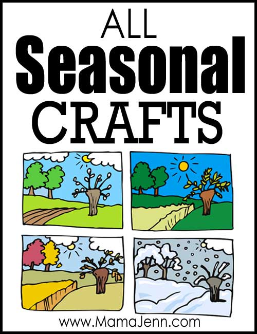All Seasonal Crafts for kids