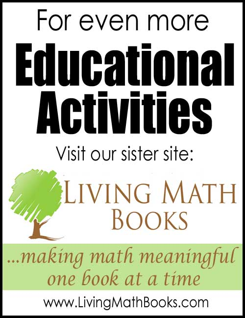 Living Math Books Educational Activities