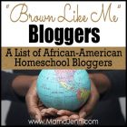 """Brown Like Me"" Homeschool Bloggers"