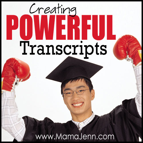 Creating Powerful Homeschool Transcripts