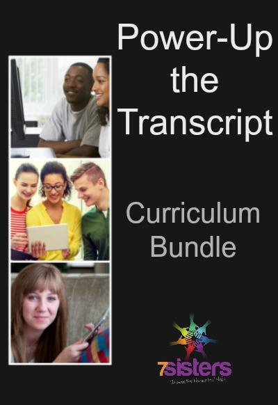 Power-Up the Transcript Homeschool High School Bundle