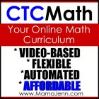 CTCMath: Online Homeschool Curriculum