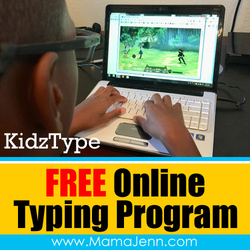 KidzType FREE Online Typing Program