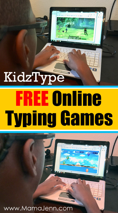 KidzType FREE Typing Games