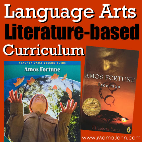 Literature-based Language Arts Curriculum