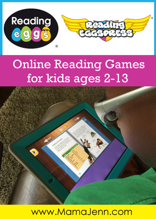 Reading Eggs Online Reading Games