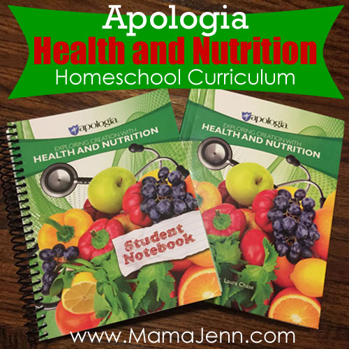 Apologia Homeschool Health & Nutrition Curriculum