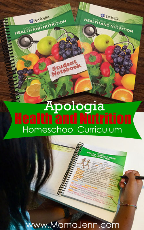 Apologia High School Health and Nutrition Homeschool Curriculum