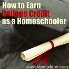 How to Earn College Credit as a Homeschooler (with Ed4Credit)