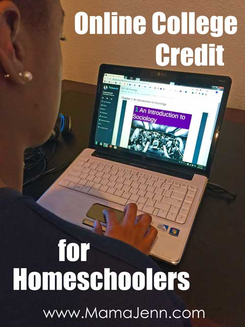 Online College Credit for Homeschoolers
