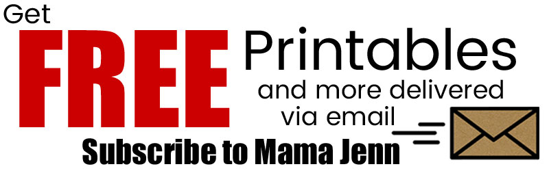 Subscribe to Mama Jenn via Email
