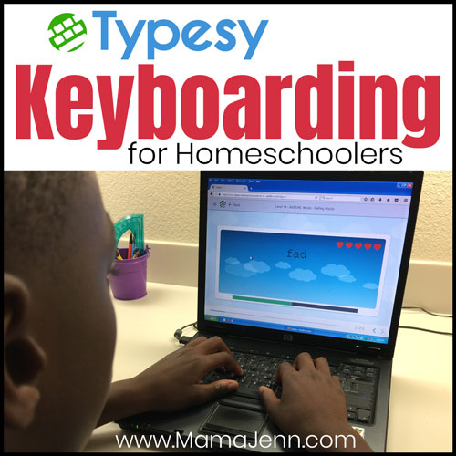 Typesy: Comprehensive Keyboarding for Homeschoolers