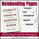 Eternity Through the Rearview Mirror (FREE Notebooking Printables)