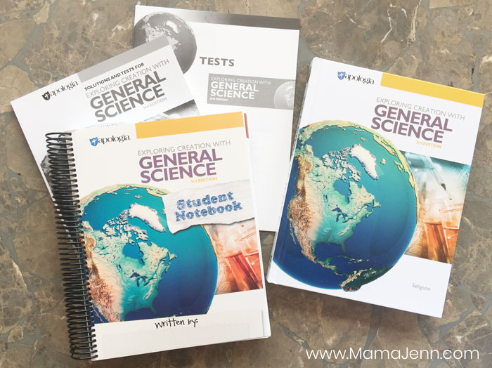 Apologia General Science Middle School Curriculum