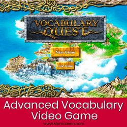 Vocabulary Quest Advanced Vocabulary Video Game