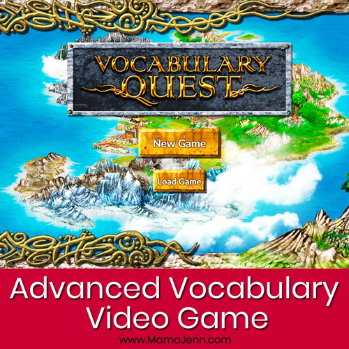 Vocabulary Quest Video Game