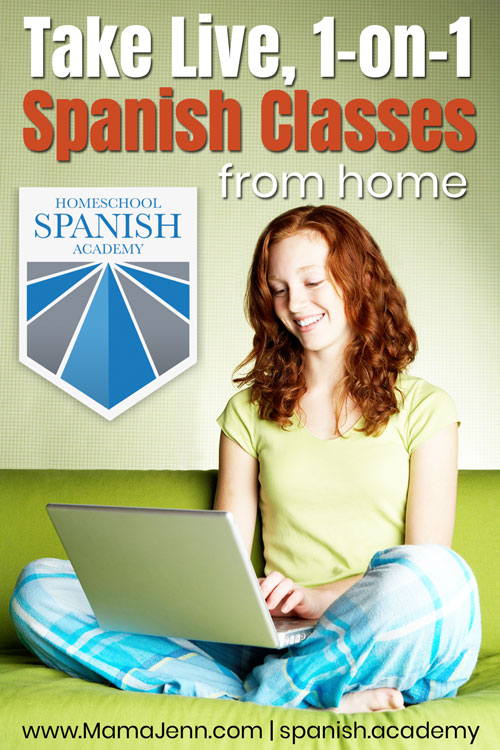 Live Spanish Classes fom Home!