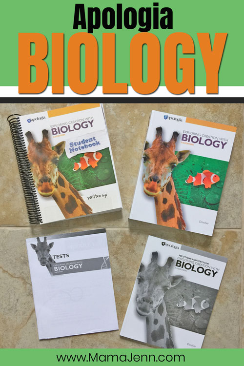 Apologia Biology books