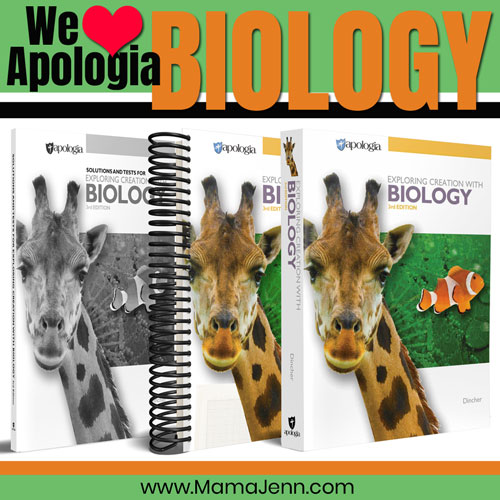 Apologia Homeschool Biology Curriculum