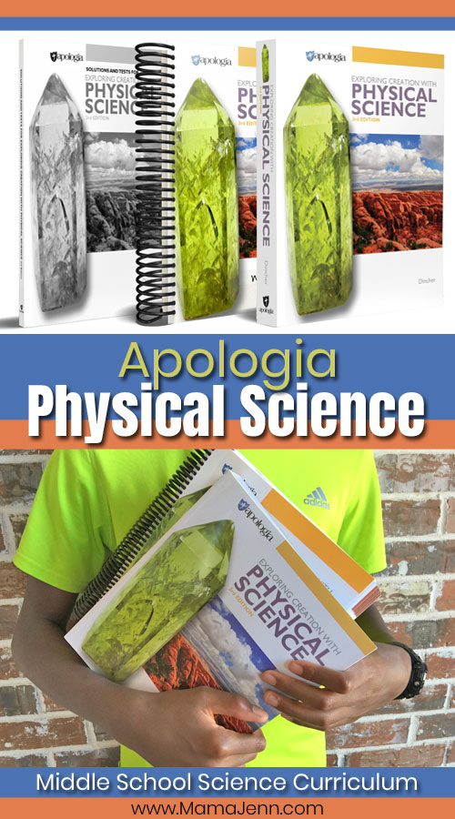 Apologia Physical Science Homeschool Curriculum for Middle Schoolers