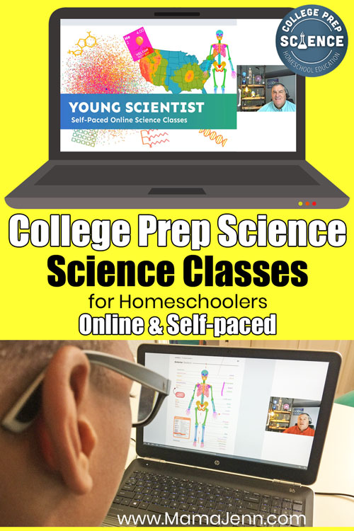 College Prep Science Online Self-paced Homeschool Classes