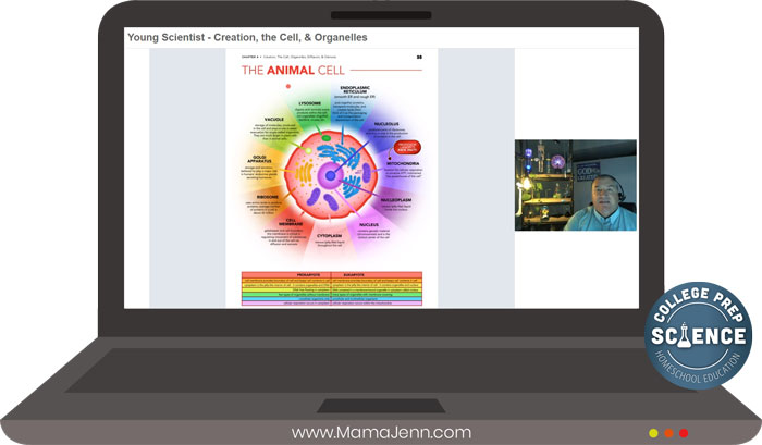 College Prep Science Self-paced Class Animal Cell