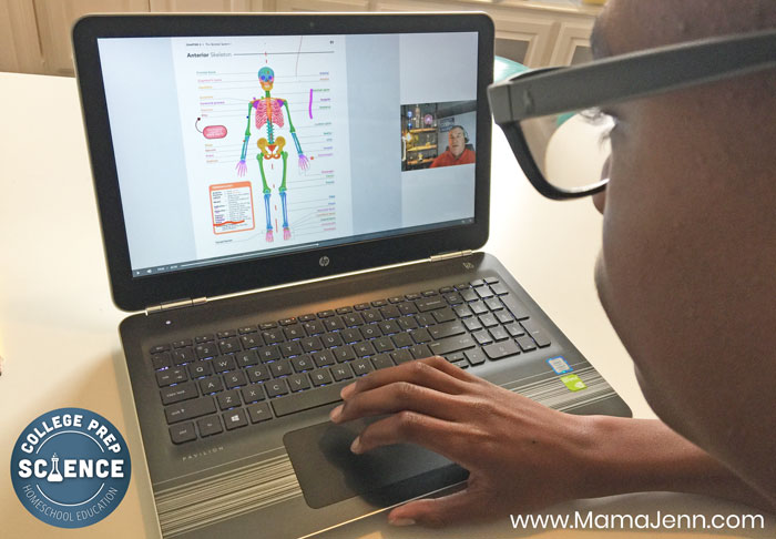 College Prep Self-paced Science Class Skeletal System